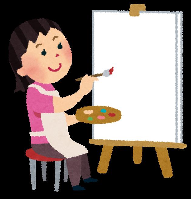 「絵描き イラスト」の画像検索結果
